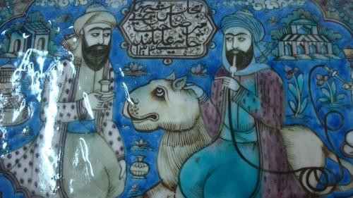 Чиния от епохата на Сафавидите(династията на шах Аббас).
