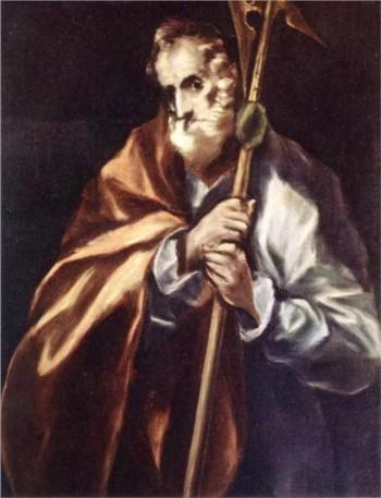 Апостол Юда (Тадей)-картина на Ел Греко