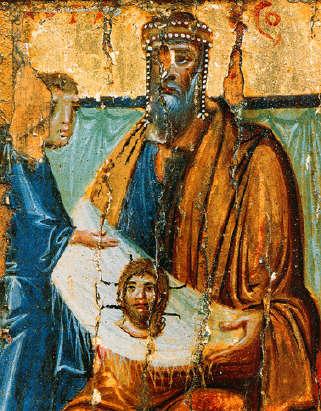 Икона от Х век от Синай