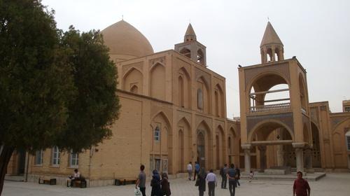 Исфахан, Арменската катедрала Ванк