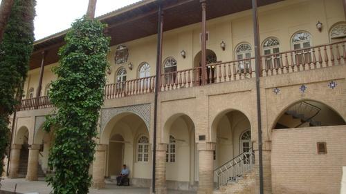 Исфахан, Резиденцията на арменския архиепископ.