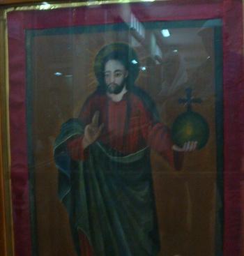 Исфахан, Иконата на Христос Вседържател от музея.