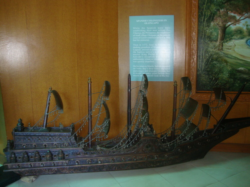 Кораб на испанските колонизатори