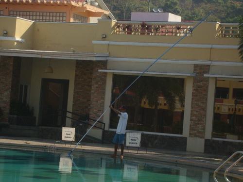 почистване на басейна