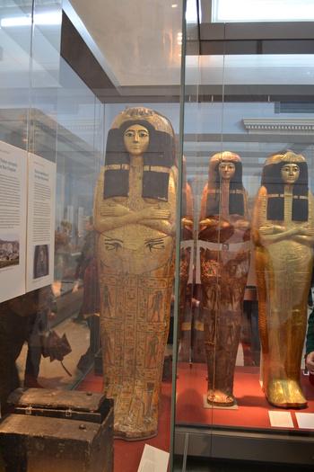Лондон, Британският музей, Египетски артефакти
