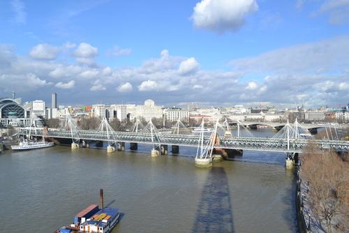 Лондон, Окото на Лондон, гледка към града