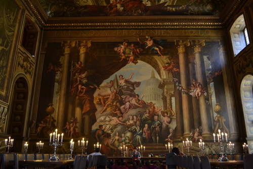 Гринуич, the Painted Hall