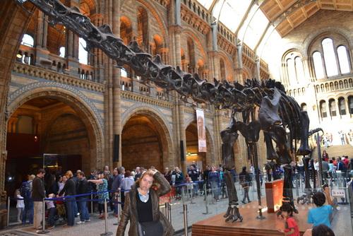 Лондон, в Природонаучният музей