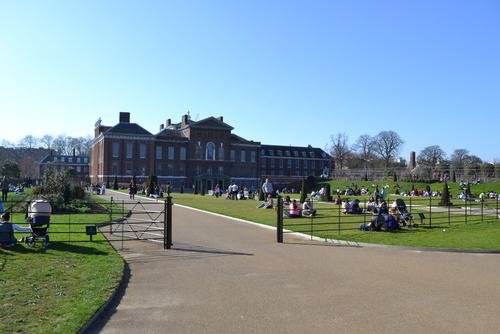 Лондон, Хайд парк, двореца Кенсингтън