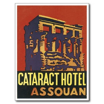 Cataract hotel Assouan