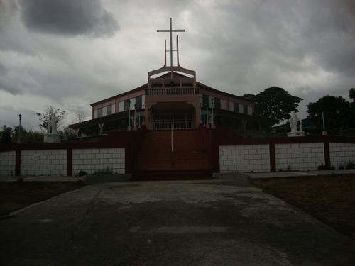 селска църква в планината