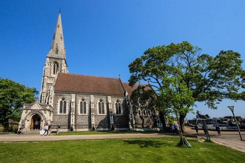 Дания, Копенхаген, Англиканската църква St.Alban