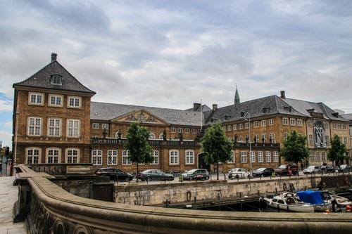 Дания, Копенхаген, дворец Christiansborg