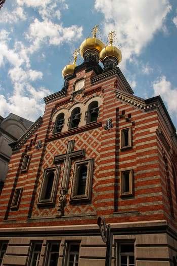 Дания, Копенхаген, руската църква Александър Невски