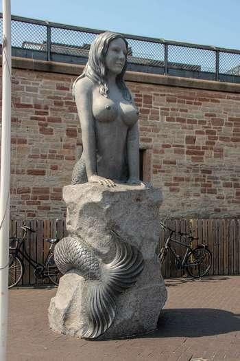Дания, Копенхаген, русалка