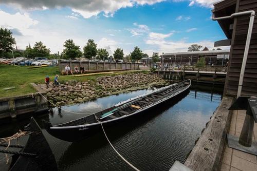 Дания, Роскилде, пристанището с викингските кораби