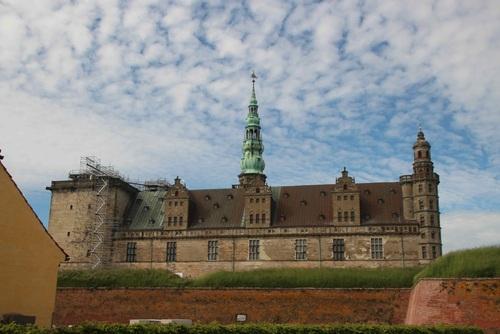 Дания, Копенхаген, замък Kronborg