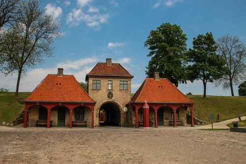 Дания, Копенхаген, укреплението Kastellet