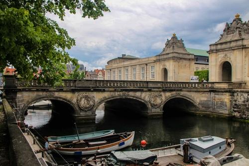 Дания, Копенхаген, Мраморният мост