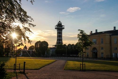 Дания, градините на Frederiksberg