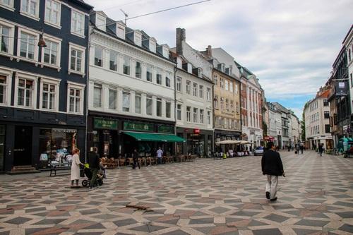 Дания, Копенхаген, улица Стрьогет