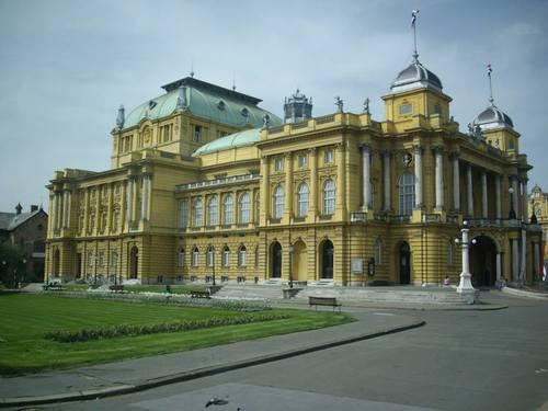 Загреб. Националния театър.