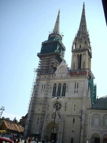 Загреб. Катедралата.