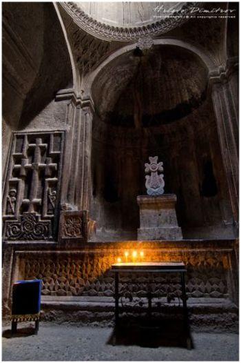 Олтарът на църквата на Аставацин на Прошян