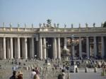 Рим, Площадът пред базиликата Св. Петър и Павел