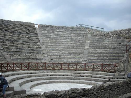 Помпей, амфитеатърът