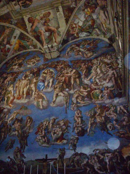 Стенопис Страшният съд в Сикстинската капела