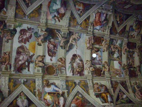 Сътворението, Сикстинската капела