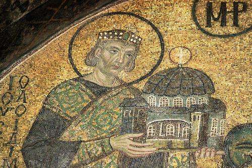 Император Юстиниан през последните си години(559-560)