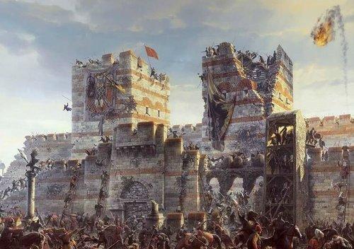 """Истанбул, Монументалната """"Панорама 1453г."""" или завземането на Константинопол е недалеч от Живоносния източник"""