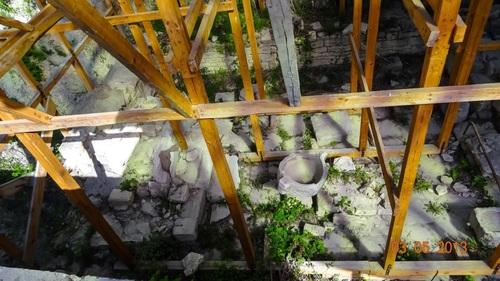 Античният храм на Кибела в Балчик