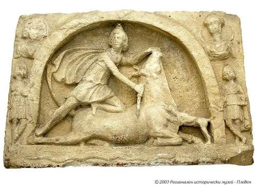 Тавроктония или заколението на бика (световното зло) от Митра