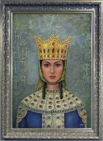 Красивата царица Тамара