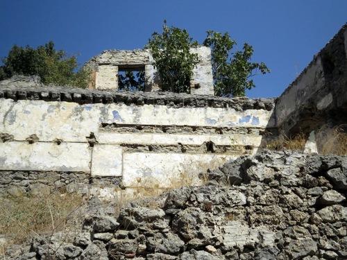 Каякьой - останки от вътрешна боя