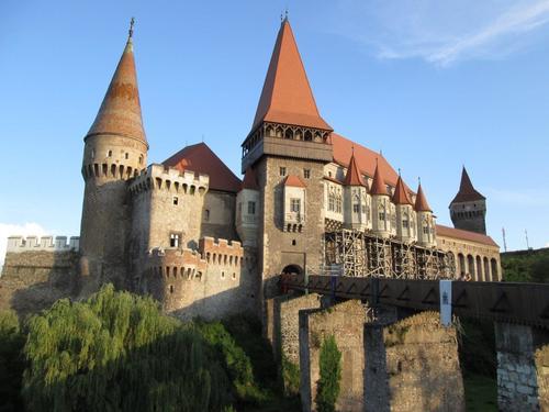 Замъкът в Хунедоара