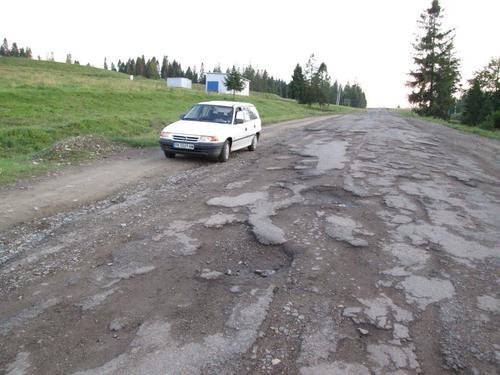 Разбитите украински пътища ми бяха добра тренировка за Монголските черни пътища