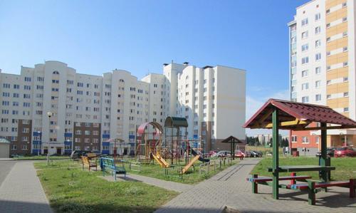 Нов жилищен квартал в град Гродно