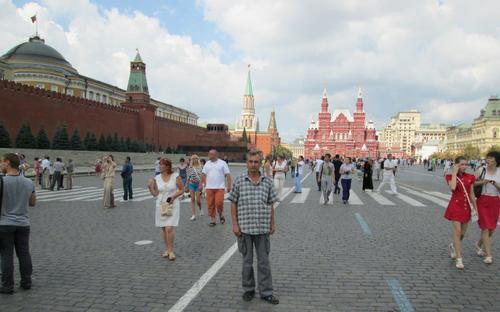 Авторът на Червения площад в Москва
