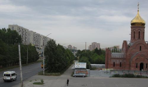 Поглед към град Толиати, в който нямаше туристически забележителности