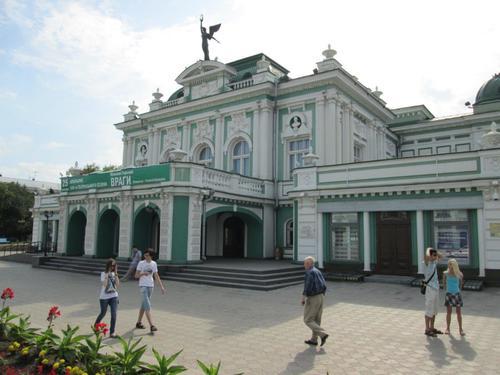 Драматичният театър в град Омск