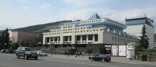 Националният театър в град Горно Алтайск