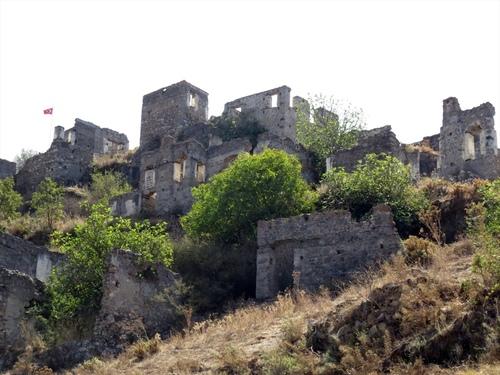 Каякьой - горните къщи