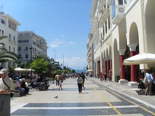 Солун, площад Аристотел