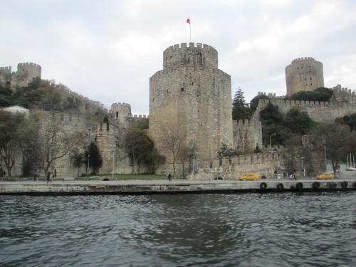 Истанбул, Крепостната стена