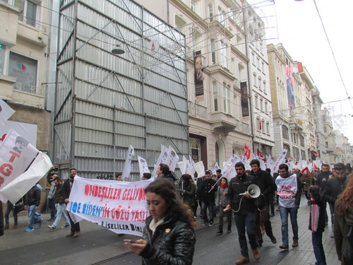 Истанбул, Демонстрация