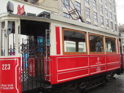 Истанбул, Ретро трамвай